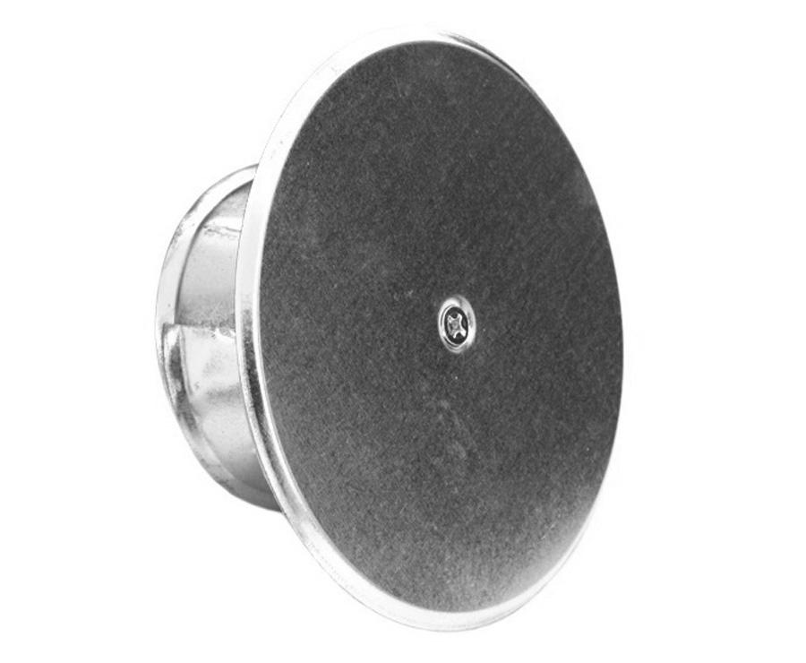 Hervorragend Rauchrohr Deckel Blinddeckel DN100-150 mm Blind Kappe Ofenrohr  AV47