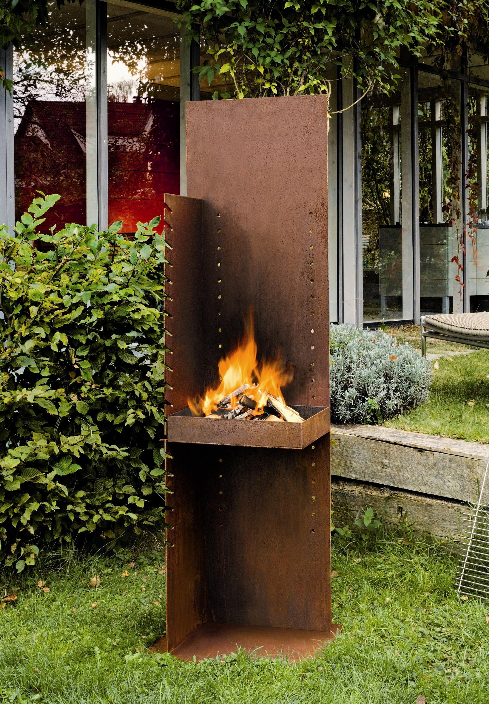 Ehrfürchtig Feuerstelle Garten Design