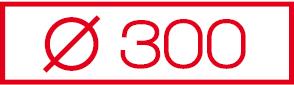 Ø 300 Leichtbauschacht