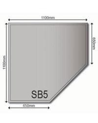 Edelstahlbodenplatten 1,5 mm