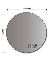 Stahlbodenplatten 2mm
