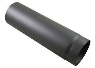 Rauchrohr grau DN 150 mm Längenelement 500 mm