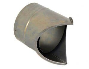 Rauchrohr DN 150 mm Wandfutter Mauermuffe Ecke aussen