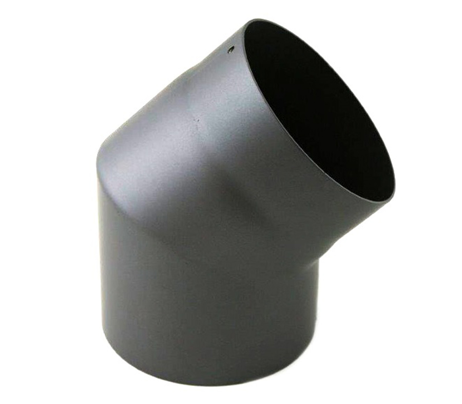 Rauchrohr Ofenrohr Kaminrohr Dn 150 Winkel 45