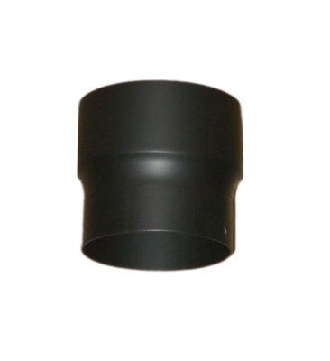 Erweiterungsstück Ofenrohr Kamin 150 200 mm Gussgrau