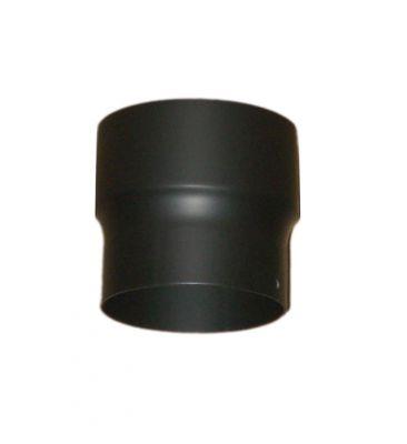 Rauchrohr - Erweiterung DN 120/180 mm Schwarz
