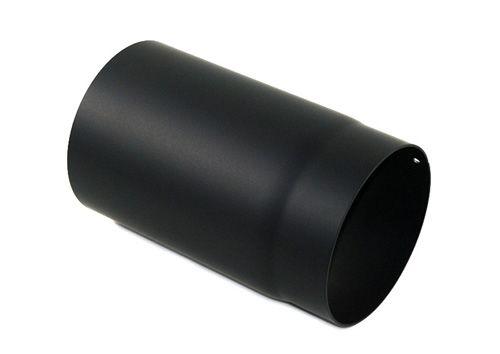 Rauchrohr schwarz DN 150 mm Längenelement 150 mm