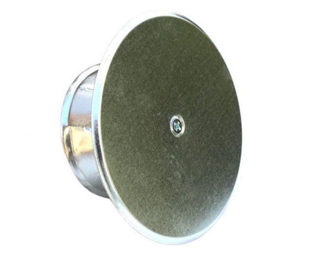 Rauchrohr DN 100-150 mm verstellbarer Blinddeckel