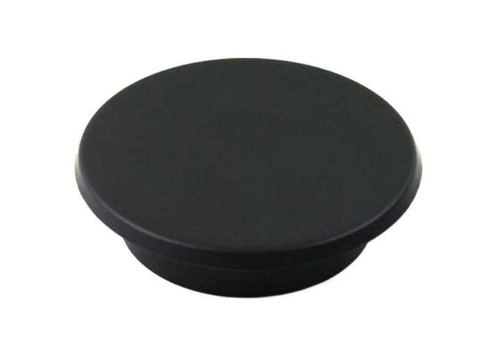 Rauchrohr DN 160 mm Blinddeckel für Wandfutter schwarz