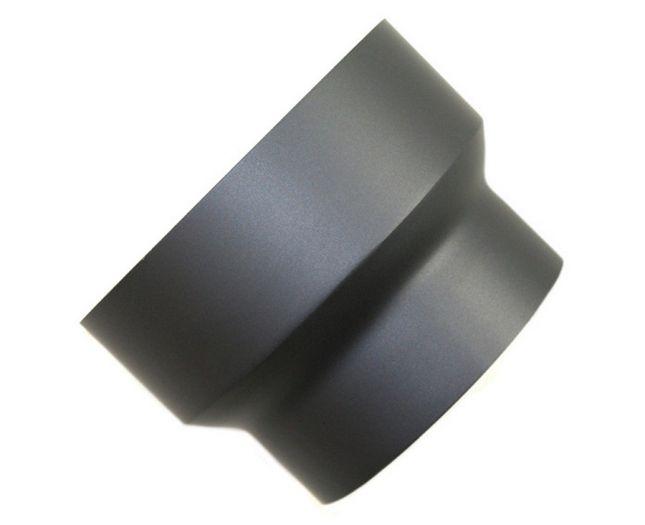 Rauchrohr Reduzierung DN 130/120 mm Grau