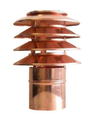 Jeremias DN 150 mm Lamellenaufsatz Kupfer