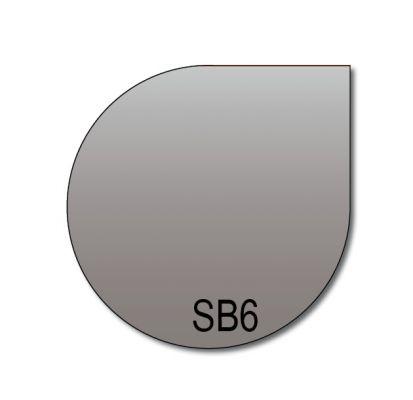 Stahlbodenplatte SB 6 1100 x 1100 x 2 mm Grau