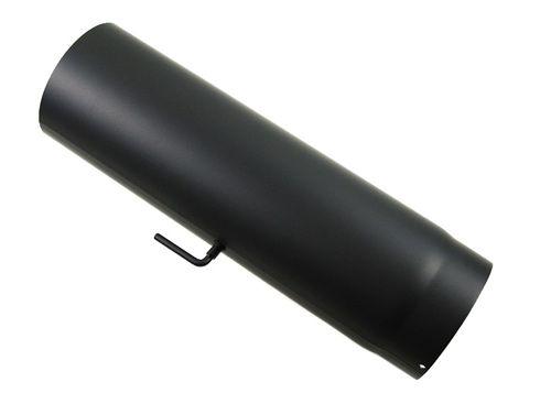 rauchrohr dn 200 mm mit drosselklappe le 500 schornstein online com. Black Bedroom Furniture Sets. Home Design Ideas