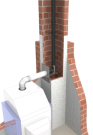Jeremias PPs Abgasanlage DN 60 mm 15 Meter Komplettpaket