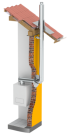 Jeremias LAS Abgasanlage Ø 80/125 - PPs/VA 11 Meter Komplettpaket
