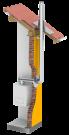 Jeremias LAS Abgasanlage Ø 60/100 - PPs/VA 4 Meter Komplettpaket