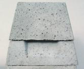 einzügiger Schornsteinaufsatz aus Beton 20x20 Zug