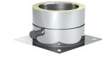 Jeremias DN 180 mm Grundplatte für Sockelmontage mit 1/2 Außennippel