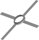 Jeremias Montageschelle Kunststoff DN 80 mm