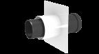 Jeremias DN 110 mm Anschlusselement füt TWIN_PL inkl. 130-PP04