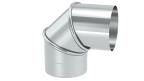 Abgasrohr DN 130 mm Winkel verstellbar 0 - 90°