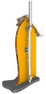 Jeremias Edelstahl Schornstein Komplettpaket 5,60 m DW - ECO 2.0 130 mm