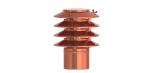 Jeremias DN 100 mm Lamellenaufsatz Kupfer