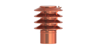 Jeremias DN 160 mm Lamellenaufsatz Kupfer