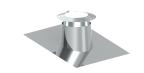 Jeremias DN 160 mm Dachdurchführung VA/ Blei 5-15°C mit Bleirand und Wetterkragen